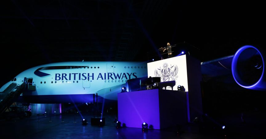 BA's Gig on a Wing