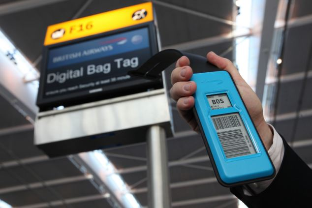 BA Trials Digital Bag Tag